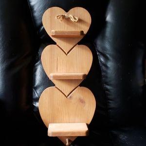 Handmade ♡Heart shelf